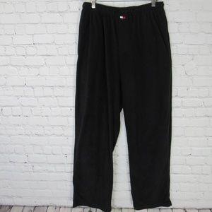 Tommy Hilfiger Pants Mens Medium M Black Fleece